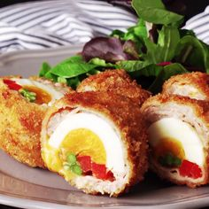 How to make Loaded Scotch Eggs.
