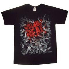 The Walking Dead Walker Horde and Logo - Camiseta manga corta Hombre #regalo #arte #geek #camiseta