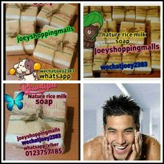 Homemade nature rice milk soap  pm me to order now nice packaging Nice packaging Homemade nature rice milk soap get one now for smoother skin and fairer face suitable for face and body 100% nature soap price only rm20 perpcs get one now from Joey wechatjoey2383/whatsapp 0123757185 everything back to nature joeyshoppingmalls.blogspot.com Fanpage;http://m.facebook.com/profile.php?id=125139364201672