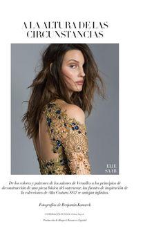 Harper's Bazaar Mexico and Latin America - A LA ALTURA DE LAS CIRCUNSTANCIAS