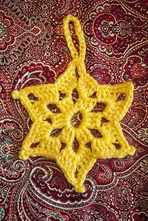 Ravelry: Star of David Ornament pattern by Crochet Kitten Crochet Ornament Patterns, Crochet Ornaments, Crochet Patterns, Crochet Stars, Crochet Snowflakes, Crochet Flowers, Diy Crochet, Crochet Crafts, Crochet Projects