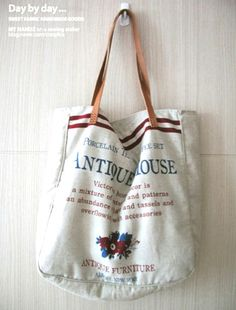 antique house fabric by zakka