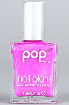 The Nail Glam Polish in Pansy Purple by Pop Beauty #Karmaloop