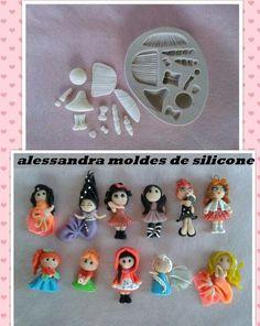 moldes de silicone