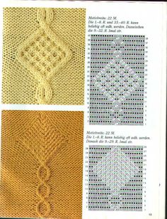 "Photo from album ""араны"" on Yandex. Cable Knitting Patterns, Knitting Charts, Lace Knitting, Knitting Stitches, Knit Patterns, Stitch Patterns, Knit Crochet, Yarn Inspiration, Knitting Projects"