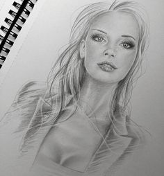 Art Auctions for Drawings – Viral Gossip Pretty Drawings, Art Drawings Sketches, Modern Drawing, Realistic Pencil Drawings, Comic Art Girls, Figure Sketching, Black And White Drawing, Artist Life, Beauty Art