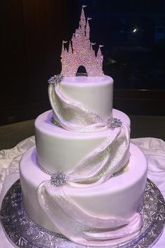 Fascinating Wedding Cakes Pictures And Designs ❤ See more: http://www.weddingforward.com/wedding-cakes-pictures/ #weddingforward #bride #bridal #wedding