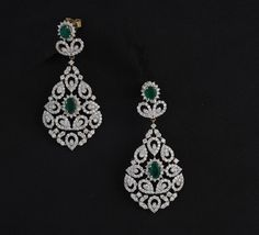 bridal diamond drop earrings bridal jewellry