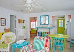 The Shrimp Cottage living room Jane Coslick design
