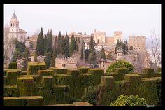 Alhambra Generalife Granada Spain