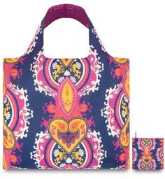 Loqi OP.BL Design-Einkaufstasche Opulent, Blueviolet