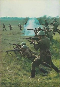 Soviet army training in the 60's