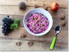 Gizi-receptjei.  Várok mindenkit.: Gyümölcsös céklasaláta. Penne, Cabbage, Grains, Vegetables, Food, Essen, Cabbages, Vegetable Recipes, Meals
