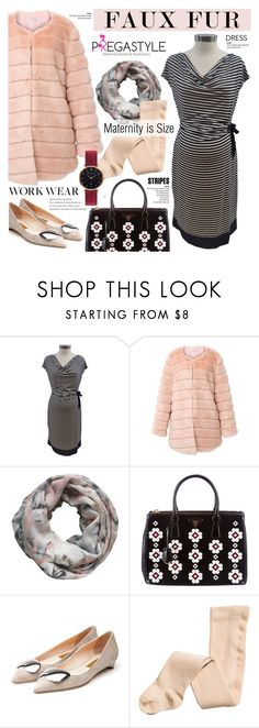 """""""Pregastyle 21"""" by cly88 ❤ liked on Polyvore featuring Motherhood Maternity, storets, Alva-Norge, Prada, Rupert Sanderson and Abbott Lyon"""