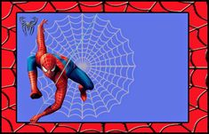 """Planning a spiderman themed birthday party for kids? If """"no"""" is the answer then here are some perfect spiderman birthday party ideas you Spider Man Party, Fête Spider Man, Spiderman Birthday Invitations, Photo Birthday Invitations, Mickey Birthday, Free Printable Invitations Templates, Online Invitations, Scrapbook Templates, Templates Free"""