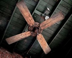 How I Gave My Ceiling Fan A Farmhouse Style Painted