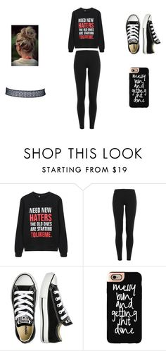 """""""need a new hater asap"""" by brittrolon on Polyvore featuring Polo Ralph Lauren, Converse and Casetify"""