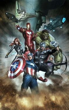#Avengers #Fan #Art. (The Avengers) By: Adi Granov. (THE * 5 * STÅR * ÅWARD * OF: * AW YEAH, IT'S MAJOR ÅWESOMENESS!!!™)[THANK U 4 PINNING!!!<·><]<©>ÅÅÅ+(OB4E)           https://s-media-cache-ak0.pinimg.com/474x/88/c5/66/88c5669c5b0dac30814bd498d76ffeeb.jpg