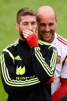 Sergio Ramos Photos: Team Spain Press Conference