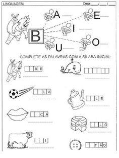 **´¯`*♥¸¸*♥`*ESPAÇO APRENDENTE**´¯`*♥**´¯`*♥**: NOVAS ATIVIDADES - ALFABETIZAR E LETRAR - Português e Matemática
