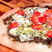 We're in love with this Pesto Pizza from Donatella Arpaia - follow her recipe or add your own additional toppings! #HSNCooks