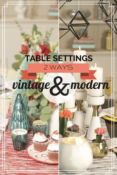 HGTV Crafternoon: 2 Easy Holiday Table Settings