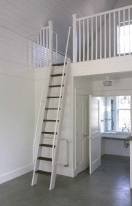 ship ladder white