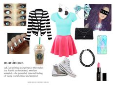 """""""Cute Summer Converse Day"""" by kikilangford ❤ liked on Polyvore"""