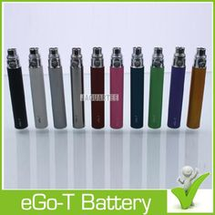Wholesale EGo T Battery - Buy EGo-T Battery for EGO E Cigarettes E-liquid Vapor Kits Ego-T CE4 Electronic Cigarettes Cheap EGo Battery for EGo USB Chargers Huge Discount, $1.67 | DHgate:http://www.dhgate.com/store/14913552#st-navigation-storehome