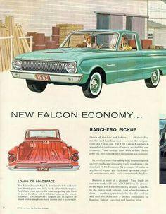 Ford Falcon Ranchero advert