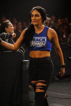 """"""" get this woman on Team Smackdown 📸🙌 Dean Ambrose Hot, Wwe Girls, Wwe Ladies, Wwe Outfits, Nia Jax, Black Taps, Wwe Female Wrestlers, Fire And Desire, Wrestling Divas"""