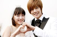 """Yoon Ji Hoo and Geum Jan Di ~ """"Boys over Flowers"""" ... lol I know It might just be me but, I wanted them to get togeather in the end (^.-)"""