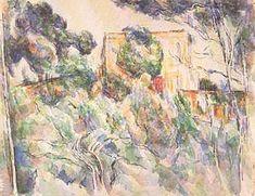 Paul Cezanne - The Chateau Noir (c.1904, 41x53cm)