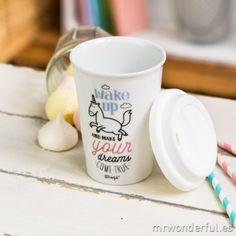 Mug Take Away Licorne