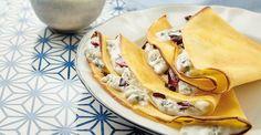 crespelle radicchio & gorgonzola