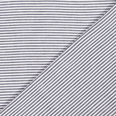 Buy John Louden Seersucker Stripe Cotton Fabric, Navy Online at johnlewis.com