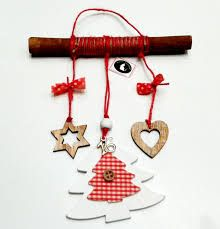 Image result for γουρια 2015 χειροποιητα με κανελα Felt Crafts, Diy And Crafts, Christmas Crafts, Christmas Ornaments, Christmas Items, Christmas Diy, Lucky Charm, Diy Painting, Easy Diy