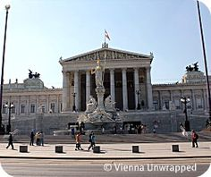 Vienna Sights: Austrian Parliament