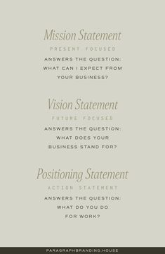 Vision And Mission Statement, Business Mission Statement, Mission Vision, Best Mission Statements, Doula Business, Business Planner, Business Entrepreneur, Business Tips, Social Media Marketing Business