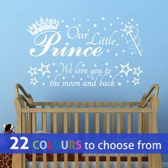 sweet dreams moon clouds and stars wall art sticker decal