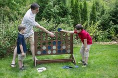 DIY Backyard Game: Four-in-a-Row http://ext.homedepot.com/community/blog/diy-backyard-game-four-in-a-row/