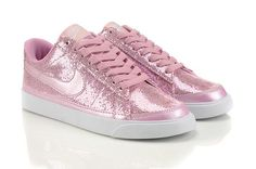 e81397d3048 Nike Pink Sequin Glitter Skinny Sports Shoes For Girls Pink Low  79.00