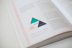 Sources for a core creative concept - Branded Interactions (EN) / Design by Katrin Schacke Layout Design, Print Design, Graphic Design, Info Graphics, Colour Schemes, Editorial Design, Core, Design Inspiration, Concept