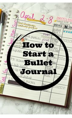 How to Start a Bullet Journal #StopSpills #OnTheGoWithContigo #ad