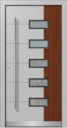Flush Door Design, Single Door Design, Wooden Front Door Design, Home Door Design, Door Gate Design, Door Design Interior, House Front Design, Modern Exterior Doors, Montage