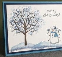 Image result for DIY Christmas Cards Stampin Up