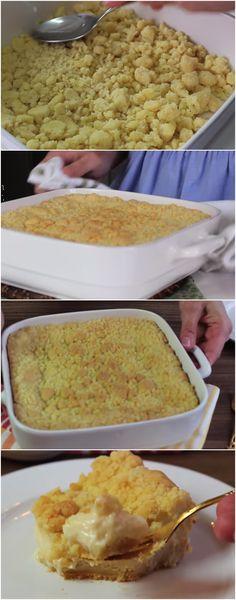 BOLO fácil de fazer, e gostoso e aproveita fazer esse bolo para a sua familia ou quando alguem  faz visita, com certeza eles vão adorar com saborosa e delicioso, veja e faça:  #Bolo #Farofa #Mundo #Sobremesa #Fácil #Delicioso #Gostoso #Receita #Docinho