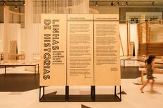 Museum Exhibition Design, Wood Print, Display, Prints, Madrid, Retail, Space, Board, Glass