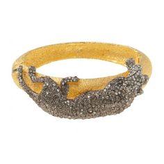 Alexis Bittar Panther Bracelet.