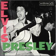 Elvis Presley by Elvis Presley (1956) | Community Post: 42 Classic Black And White Album Covers